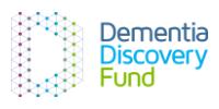 Dementia Discovery Fund Logo